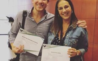 Dr. Manuel S Cantillo y nuestra higienista Ana Lozano máster en ortodoncia plástica